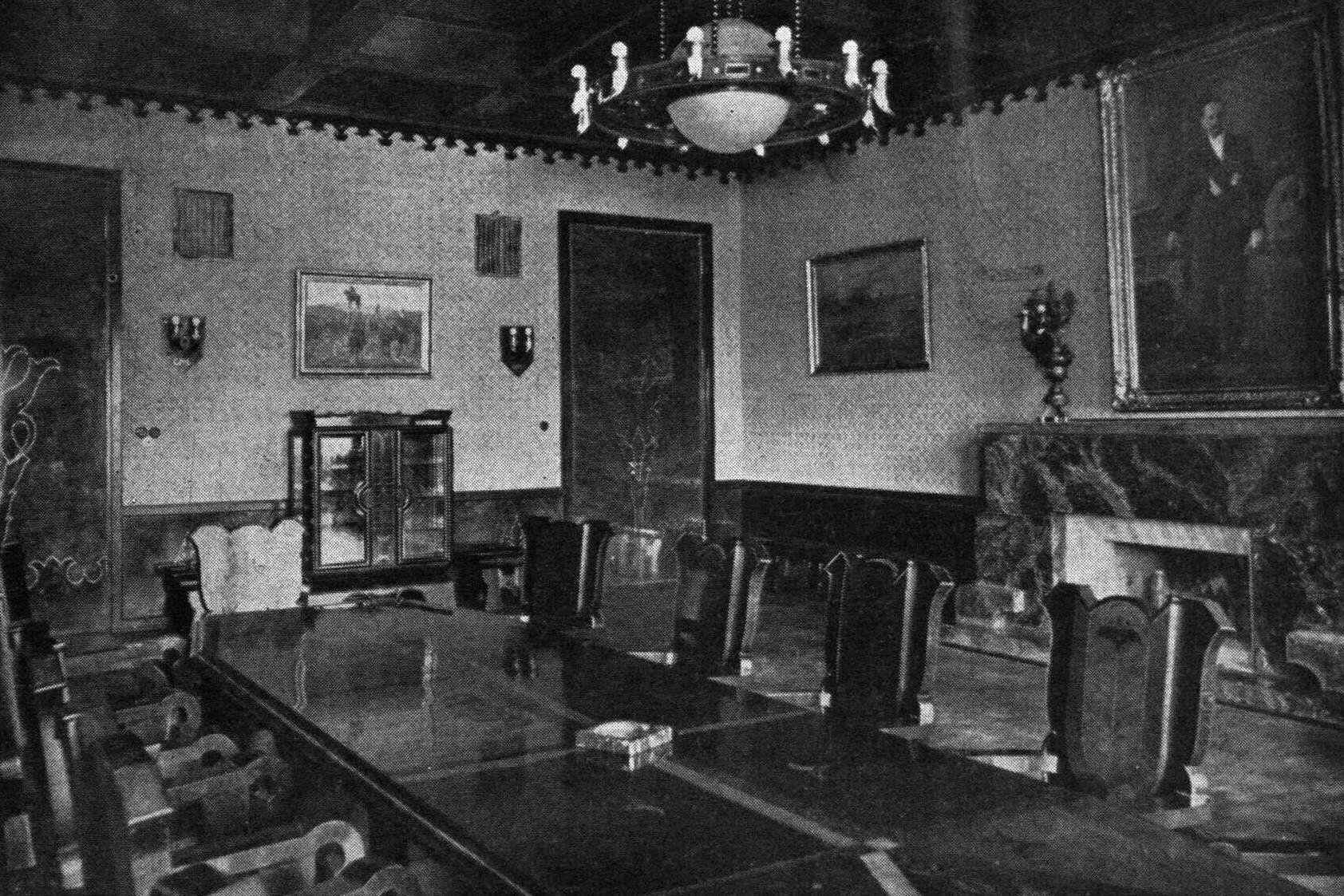 ramove kardas 1937 nr 9 prezidento kambarys apkarpyta