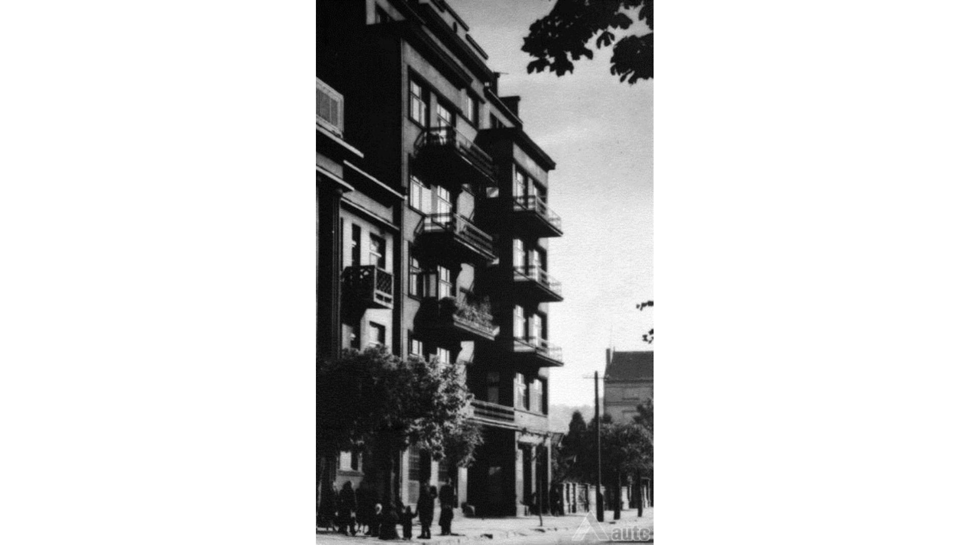 lapėno namas istorinė nuotrauka