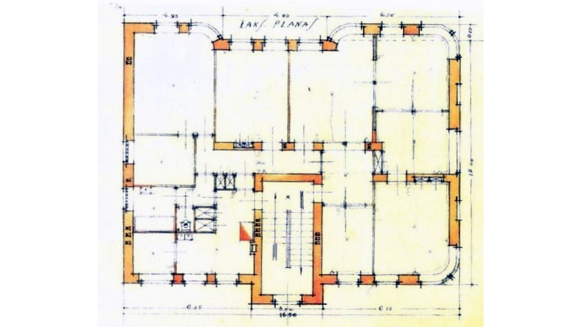 matijošaičių namo planas