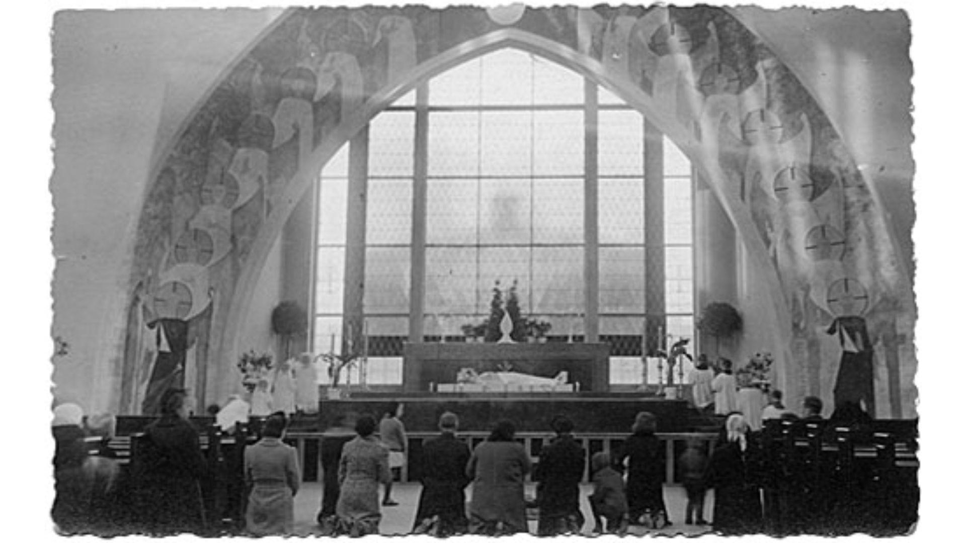 šančių bažnyčios altorius
