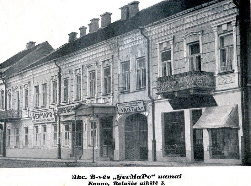 germapo pastatas senamiestyje
