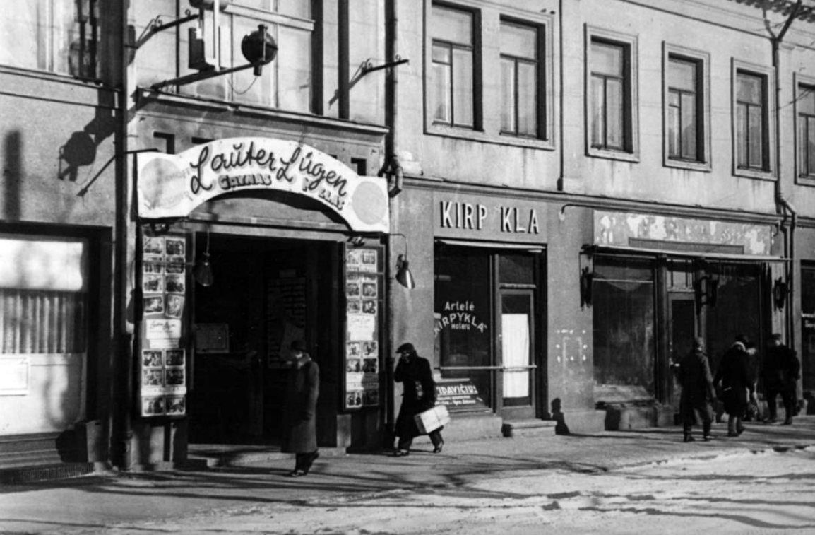 kino teatras kapitol istorinė