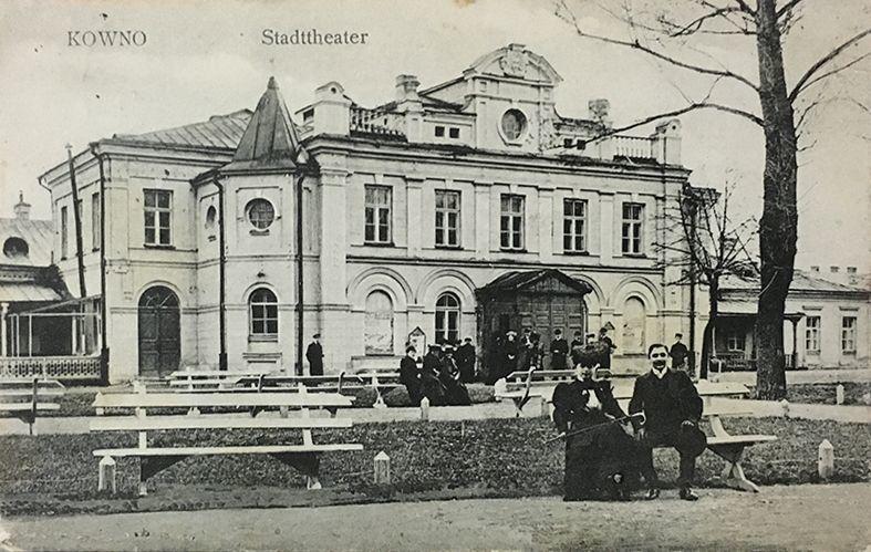 miesto teatras XIX a