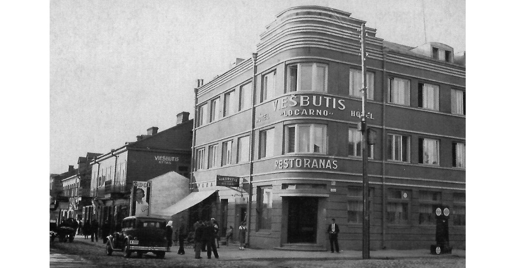 viešbutis locarno istorinė