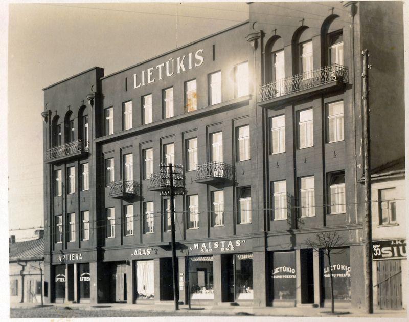 lietūkio biuras istorine nuotrauka