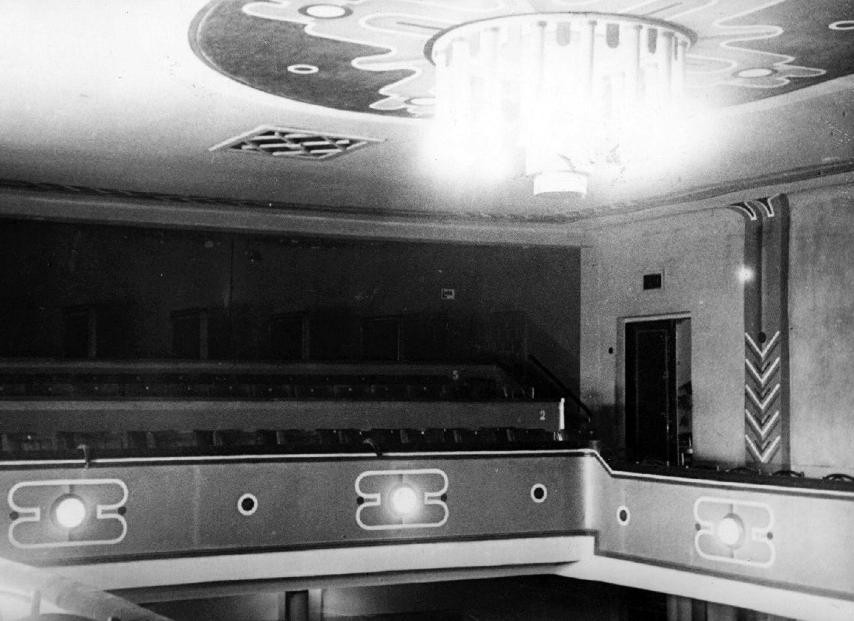 kino teatro odeon vidaus istorine nuotrauka