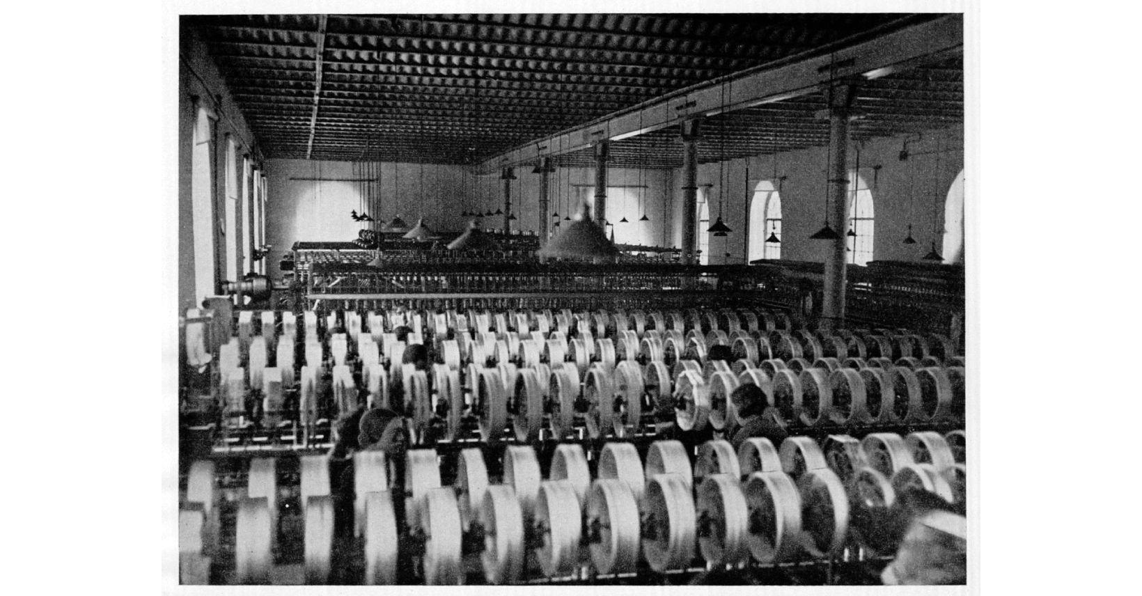kauno audiniu fabriko vidus istorine