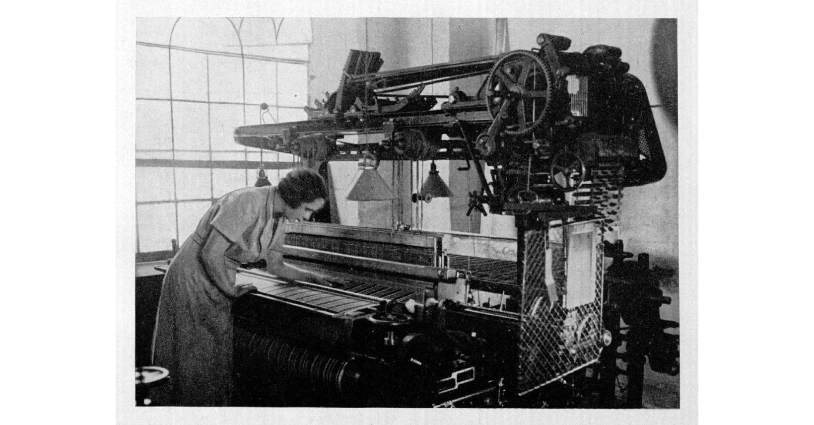 kauno audiniai fabriko vidus istorine