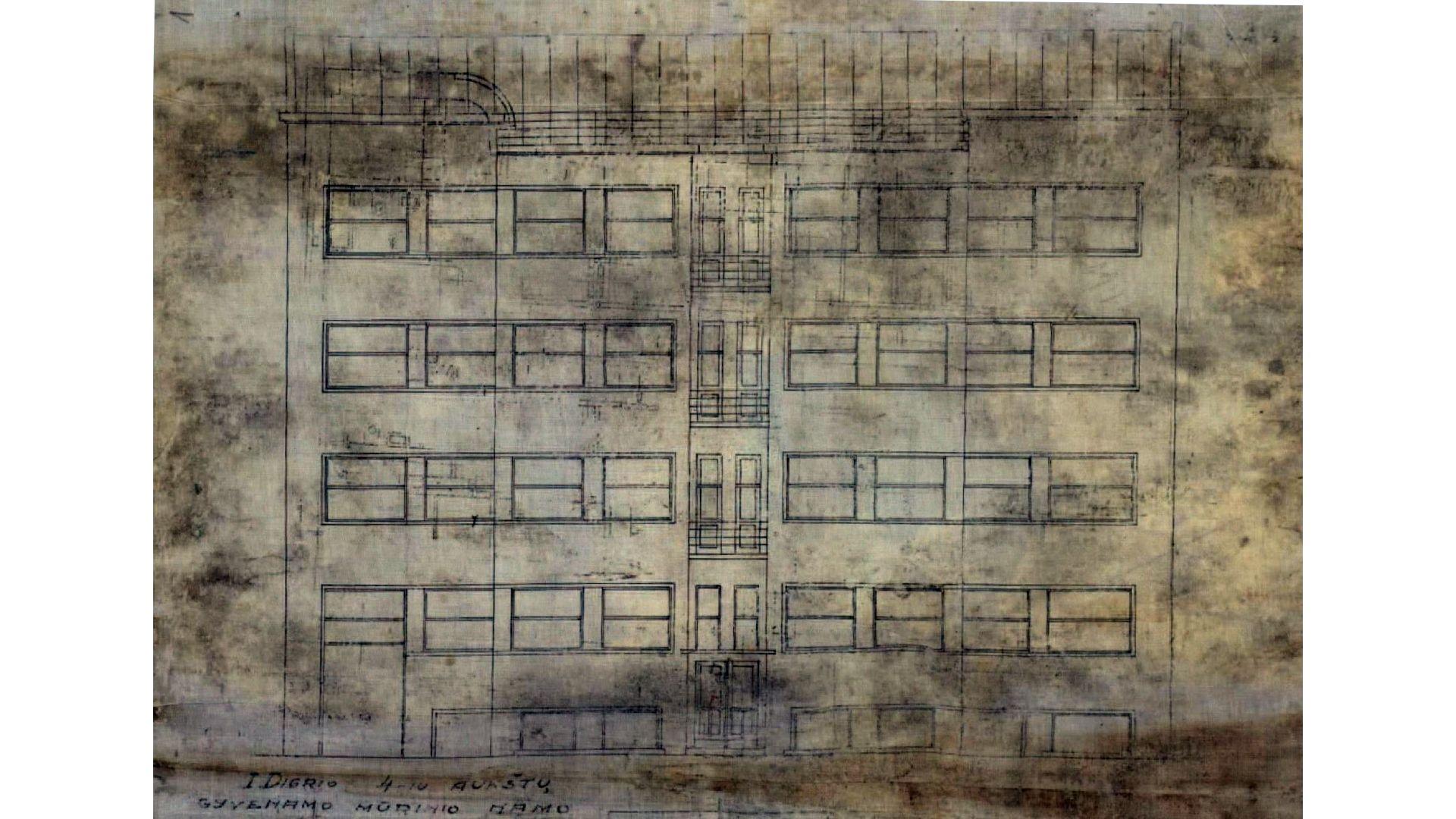 s digrio namo kestucio 47a fasado projektas