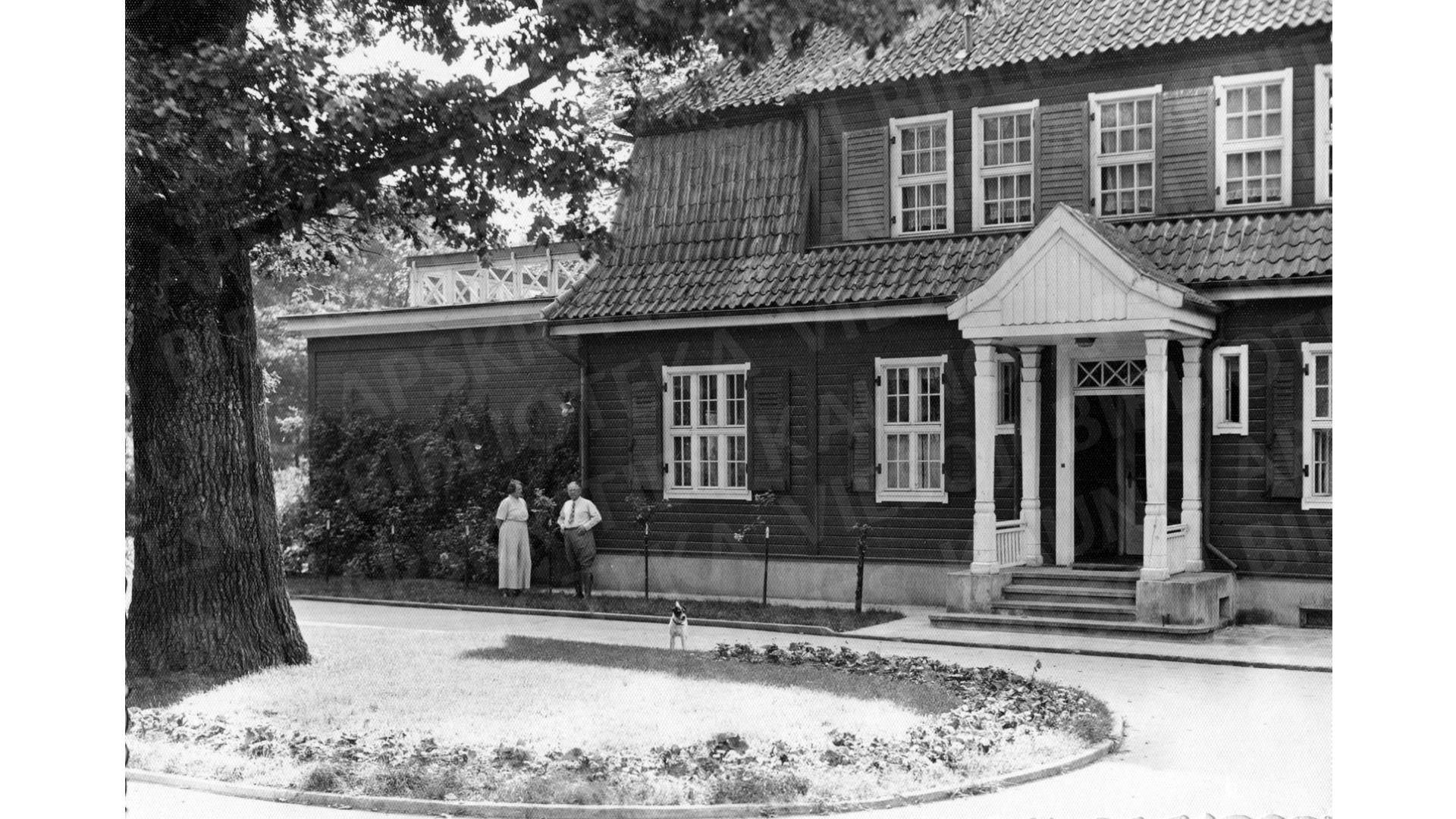 vokietijos pasiuntinio rezidencija istorine